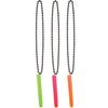 Test Tube Shot Bead Necklace - assorted colors
