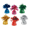 Metallic Wrapped Balloon Weights