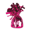 Balloon Weights - Metallic Wrapped Balloon Weight - cerise