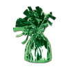 Balloon Weights - Metallic Wrapped Balloon Weight - green