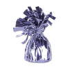 Metallic Wrapped Balloon Weight - lavender