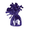 Balloon Weights - Metallic Wrapped Balloon Weight - purple