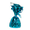 Metallic Wrapped Balloon Weight - turquoise