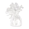 Balloon Weights - Metallic Wrapped Balloon Weight - white