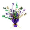 Mardi Gras Gleam 'N Burst Centerpiece