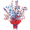 Star Gleam 'N Burst Centerpiece - red, white, blue