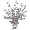 Star Gleam 'N Burst Centerpiece - silver