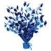 Graduate Cap Gleam 'N Burst Centerpiece - blue