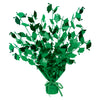 Graduate Cap Gleam 'N Burst Centerpiece - green