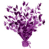 Graduate Cap Gleam 'N Burst Centerpiece - purple