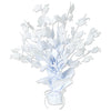 Graduate Cap Gleam 'N Burst Centerpiece - white