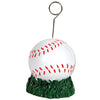 Sports Party Supplies - Baseball Photo/Balloon Holder