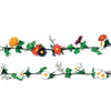 Daisy Garlands - 6 pcs white & 6 pcs multi-color