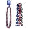 Star Beads - assorted red, silver, blue