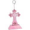 Religious Party Supplies - Cross Photo/Balloon Holder pink