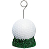 Sports Party Supplies - Golf Ball Photo/Balloon Holder