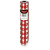 Masterpiece Plastic Gingham Table Roll - red
