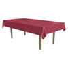 Masterpiece Plastic Rectangular Tablecover - burgundy