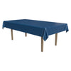 Masterpiece Plastic Rectangular Tablecover - blue
