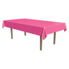 Masterpiece Plastic Rectangular Tablecover - cerise