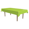 Masterpiece Plastic Rectangular Tablecover lime green