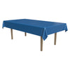 Masterpiece Plastic Rectangular Tablecover - medium blue