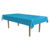 Masterpiece Plastic Rectangular Tablecover - turquoise