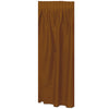 Masterpiece Plastic Table Skirting - chocolate brown