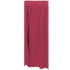 Masterpiece Plastic Table Skirting - burgundy