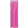 Masterpiece Plastic Table Skirting - cerise
