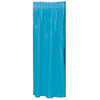 Masterpiece Plastic Table Skirting - turquoise