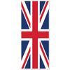 Union Jack Door Cover, party supplies, decorations, The Beistle Company, British, Bulk, Other Party Themes, Olympic Spirit - International Party Themes, British Themed Decorations