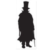 Villain Silhouette, party supplies, decorations, The Beistle Company, Sherlock Holmes, Bulk, Other Party Themes, Sherlock Holmes