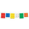 Building Blocks Streamer, party supplies, decorations, The Beistle Company, Building Blocks, Bulk, Other Party Themes, Building Blocks