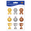 Award Ribbon Stickers, party supplies, decorations, The Beistle Company, Sports, Bulk, Sports Party Supplies, General Party Supplies