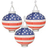 Light-Up Patriotic Paper Lanterns, party supplies, decorations, The Beistle Company, Patriotic, Bulk, Holiday Party Supplies, 4th of July Political and Patriotic, 4th of July Party Decorations, 4th of July Party Danglers