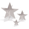 3-D Silver Foil Star Centerpieces, party supplies, decorations, The Beistle Company, Awards Night, Bulk, Awards Night Party Theme