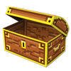 8-Bit Treasure Chest, party supplies, decorations, The Beistle Company, 8-Bit, Bulk, Other Party Themes, 8-Bit Party Supplies