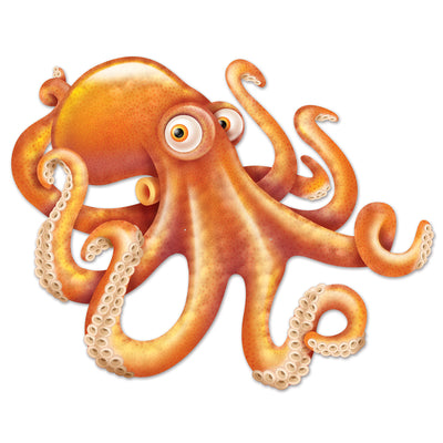 Jointed Octopus, party supplies, decorations, The Beistle Company, Under The Sea, Bulk, Other Party Themes, Under the Sea
