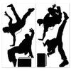 Break Dancer Props, party supplies, decorations, The Beistle Company, 80's, Bulk, Other Party Themes, 60's - 70's - 80's Theme