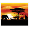 Safari Insta-Mural (Pack of 6)