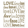 Love Insta-Mural, party supplies, decorations, The Beistle Company, Wedding, Bulk, Wedding & Anniversary, Wedding and Anniversary Decorations, Miscellaneous Wedding and Anniversary Party Supplies
