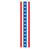 Patriotic Fabric Column Bunting, party supplies, decorations, The Beistle Company, Patriotic, Bulk, Holiday Party Supplies, 4th of July Political and Patriotic, 4th of July Party Decorations, 4th of July Signs/Banners