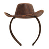 Cowboy Hat Headband, party supplies, decorations, The Beistle Company, Western, Bulk, Western Party Theme, Western Stuff to Wear