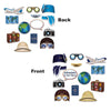 Beistle Around The World Photo Fun Signs (12 packs) - Around The World Party Theme