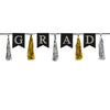 Beistle Grad Tassel Streamer (Pack of 12) - Graduation Party Decorations, Miscellaneous Graduation Decorations