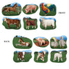 Beistle Farm Animal Cutouts (12 packs) - Farm Party Theme