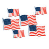 Beistle American Flag Cutouts (12 packs) - 4th of July Party Decorations, 4th of July Political and Patriotic