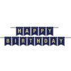 Beistle Foil Happy Birthday Streamer (Pack of 12) - 21st Birthday, Birthday Party Decorations