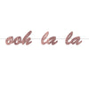 Beistle Ooh La La Streamer (Pack of 12) - French Themed Decorations, International Party Themes